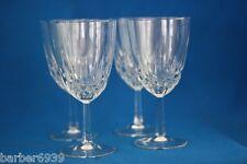 LUMINARC  DIAMANT WINE GLASSES  SET OF 4