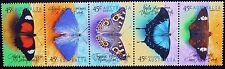 1998 BUTTERFLIES OF AUSTRALIA SE-TENANT STRIP OF '5' **MUH**!!!!!!!
