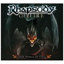 RHAPSODY OF FIRE Dark Wings of steel CD +1 BONUS LTD DIJIPACK