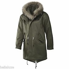 RARE~Adidas 2IN1 LONG PARKA Winter Jacket sweat shirt superstar Hoody Coat~Men M