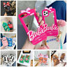 Cute Pink Cartoon Silicone Mirror Case Cover For iPhone 12 11 Pro Max XR X 678