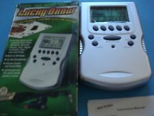 Lucky Draw Electronic Casino Handheld with FM Radio with Headphones