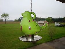 REDUCED SO CUTE Ceramic Bird Feeder-Farmhouse Decor-Garden-Trees-Bird Shaped-