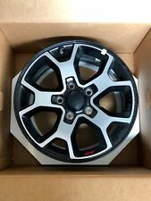 "2018 Jeep Wrangler JL Rubicon 17"" Wheels (Rims Only) Set of 5 OEM"