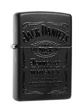 Zippo Feuerzeug Jack Daniels Black in Black