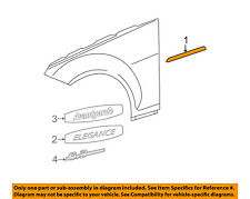 MERCEDES OEM 08-14 C300 EXTERIOR TRIM-FENDER-Body Side Molding Right 2046903262