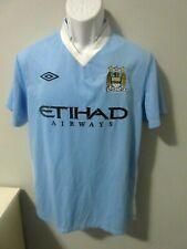 Mens Umbro Manchester City Football Soccer Jersey England sz. M  EUC