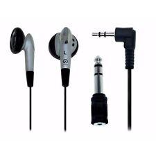 Shintaro SH-EARPHONEV2 | STEREO EARPHONE KIT with 3.5mm to 6.5mm adaptor