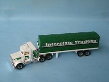 Lesney Matchbox Convoy Peterbilt Covered Truck Interstate Trucking Boxed Amb Win