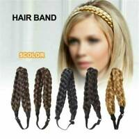 Bohemian Wear Hairbands Elastic Twist Braided Hair Headband Wig Fishtail Women