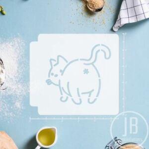 Cat Butt 783-B292 Stencil