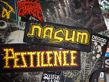Nasum Patch Gold Edition Grindcore Rotten Sound