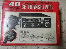 CB Transceiver - Realistic TRC-422