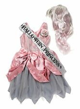 Halloween Princess Costume Age 10-12 Girls 146-152cm Prom Queen Wig Zombie