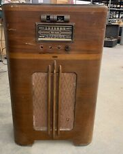 Rca Victor Vintage 1930s Old Beautiful Floor Console Tube Radio With Speaker