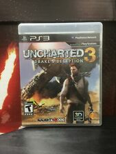 Playstation 3 Uncharted 3 Drakes Deception Video Game PS3