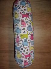 Cartoon Cats Carrier Bag Holder/Dispencer  Homecrafted Shabby Chic  x