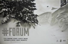 Forum Snowboards 2012 #FORUM movie promotional poster Flawless New Old Stock