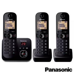 PANASONIC KX-TG680 DIGITAL CORDLESS TELEPHONE W/ ANSWER MACHINE SINGLE TWIN TRIO