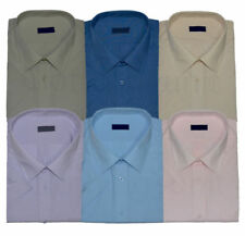Unbranded Polycotton Short Sleeve Casual Shirts & Tops for Men