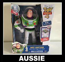 """Toy Story 4: Buzz Lightyear - 12"""" Deluxe Talking Figure"""