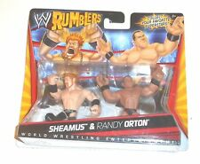 "WWE 2010 NEW MATTEL RUMBLERS ""SHEAMUS & RANDY ORTON"" Twin Pack [MOC]"