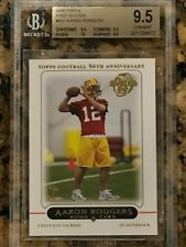 2005 Topps 1st Edition Aaron Rodgers Rookie BGS 9.5 sub 10 Packers RC