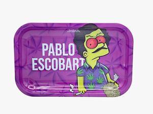 "NEW Smoke Arsenal Premium Rolling Tray ""Pablo Escobart"" 7x11"""