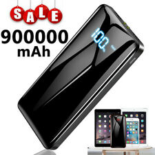 Portable Power Bank 900000mAh Universal 2USB External Battery Charger for Phone