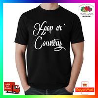 Keep er Country T-shirt Tee TShirt Farmer Farming Music Tractor Agri YFC Funny