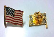 LOT OF 24 PCS USA FLAG LAPEL PIN NEW TAC PINS US FLAG PATRIOTIC SOUVENIR
