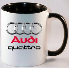 AUDI QUATRO  CAR ART MUG GIFT CUP