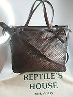 Reptile's House Tasche Original aus Leder Tasche Damenhandtasche neu RH-h 592