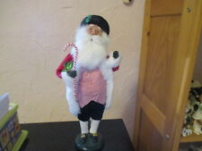 Byers Choice 2012 Santa With Candy Cane