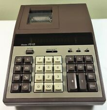 Sears Pd12 Desktop Printing Calculator Adding Machine Vintage Green Number