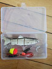 Fishing Lure Bait River Lake Sea USB Robotic Swimming sardine