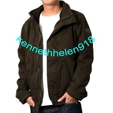 ABERCROMBIE & FITCH MENS OUTERWEAR COAT JACKET OLIVE GREEN SIZE M,L A&F