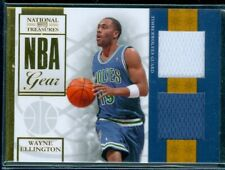 2009-10 Playoff National Treasures NBA Gear Dual #20 Wayne Ellington 9/25