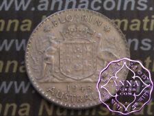 Australia 1945 George VI Florin X1, High Condition