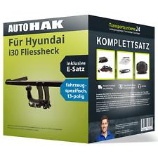 Anhängerkupplung abnehmbar für HYUNDAI i30 Fliessheck +E-Satz Set NEU