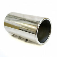 Exhaust Pipe Trim Tip Tail Muffler Chrome For Ford Focus Mondeo Escort Transit
