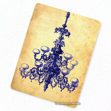 Blue Chandelier Deco Magnet, Decorative Fridge Refrigerator Mini Gifts