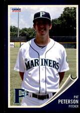 2014 Pulaski Mariners Choice #17 Pat Peterson Bear Delaware DE Baseball Card