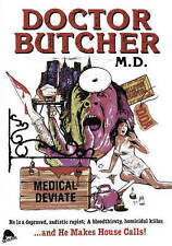 Doctor Butcher M.D./Zombie Holocaust (DVD, 2016, 2-Disc Set)