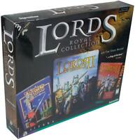 LORDS OF THE REALM Royal Collection PC / MAC VIDEO GAME Vtg 90s Big Box CIB 1997
