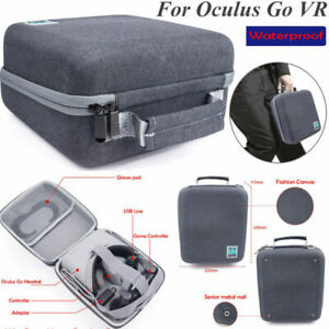 Hard Storage Case Waterproof Carry Bag for Oculus Go VR Headphone & Accessories