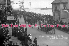 SP 370 - Lord Mayors State Visit To Hastings, East Sussex - 6x4 Photo