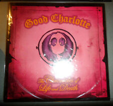 """GOOD CHARLOTTE 7"""" Record LIMITED Edition YELLOW VINYL Chronicles of Life & Death"""