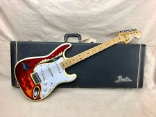 Vintage 1975 Fender Stratocaster Guitar-Hardtail Custom Painted 1970's with Case