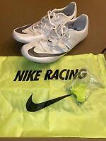 Nike Zoom Superfly Elite Sprint Track Spikes Phantom 835996-001 Men's Size 12.5